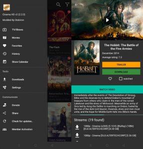 Cinema HD APK (MOD) v2.2.1 1